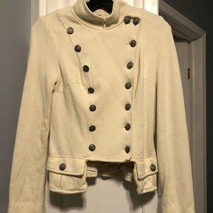 Free People knit Ivory jacket . Size 2